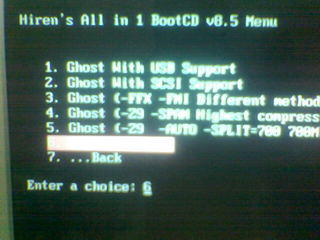 How to Ghost with Hiren' Boot