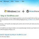 Window live Spaces ย้ายไป WordPress.com !!