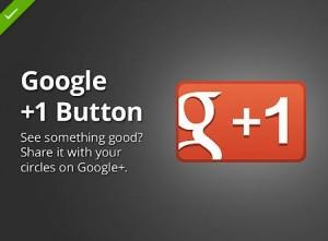 +1 button