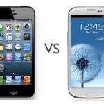 เปรียบเทียบตัวต่อตัว iPhone 5 vs Samsung Galaxy S3 ใครเจ๋งกว่ากัน