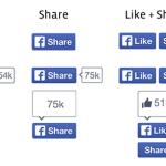 """Facebook ส่งปุ่ม """"Like"""" และ """"Share"""" โฉมใหม่ให้เราได้กดไลค์แล้ววันนี้!"""