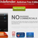 Bitdefender Antivirus Free Edition 2014 ดาวน์โหลดใช้งานได้ฟรี
