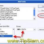 How to : วิธีติดตั้ง Font สำหรับ Windows