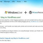 Window live Spaces ย้ายไป WordPress.com !!