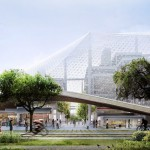 Update : Google เผยภาพสำนักงานใหญ่แห่งใหม่ มีหลังคาโปร่งแสงครอบตึกไว้อีกชั้น