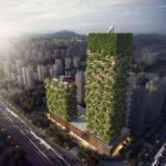 """News : เตรียมสร้าง """"สวนแนวตั้ง"""" เพื่อลดมลภาวะทางอากาศในปักกิ่ง"""