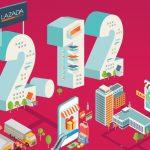Update : Lazada ประกาศสถิติ 12.12 ยอดขายรวมกว่า 8 พันล้านบาท